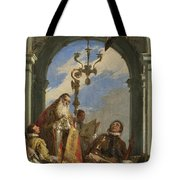 Saints Maximus And Oswald Tote Bag