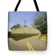 Sakonnet Point Road In Little Compton Rhode Island Tote Bag