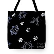 Saks 5th Avenue Snowflakes Tote Bag