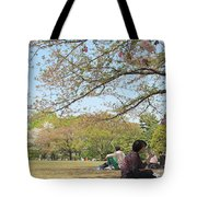 Sakura Time Tote Bag