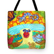 Salamander And Friends Tote Bag