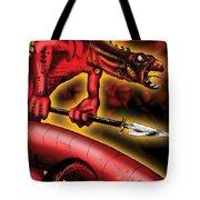 Salamander Tote Bag