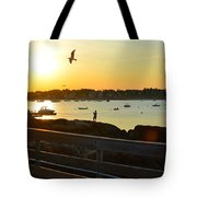 Salem Willows Sunset Tote Bag