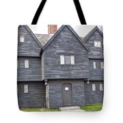 Salem Witch House Tote Bag