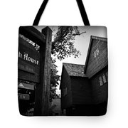 Salem's Witch House Tote Bag