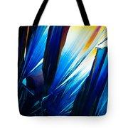 Salicylic Acid Crystals In Polarized Light Tote Bag