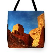 Salinas Pueblo Abo Mission Golden Light Tote Bag