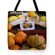 San Joaquin Valley Squash Display Tote Bag