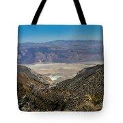 Saline Valley Panorama Tote Bag