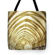 Salisbury Cathedral Cloisters 2 Tote Bag
