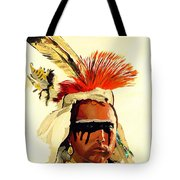 Salish Brave  Tote Bag
