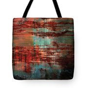 Salivated Flame  Tote Bag