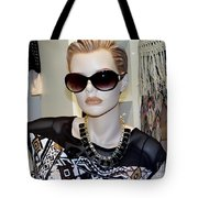 Sally In Shades Tote Bag