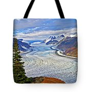 Salmon Glacier Tote Bag