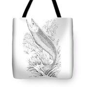 Salmon Tote Bag
