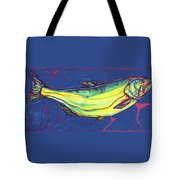 Salmon Of Knowledge Tote Bag