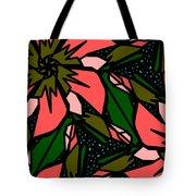Salmon-pink Tote Bag