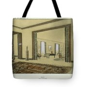 Salon, From Repertoire Of Modern Taste Tote Bag by Jacques-Emile Ruhlmann