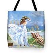Salt Aire Blues Tote Bag
