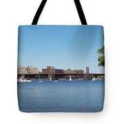 Salt And Pepper Bridge Tote Bag