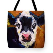 Salt And Pepper Cow 2 Tote Bag