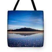 Salt Cloud Reflection Framed Tote Bag