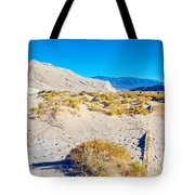 Salt Creek Boardwalk Trail In Death Valley National Park-california  Tote Bag