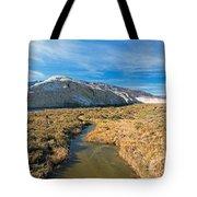 Salt Creek Death Alley National Park Tote Bag