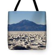 Salt Flat Surface Tote Bag