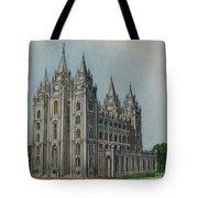 Salt Lake City Temple I Tote Bag