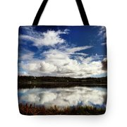Salt Pond Mirror  Tote Bag