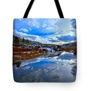 Salt River Reflections Tote Bag