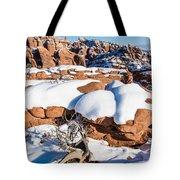 Salt Valley Overlook Tote Bag