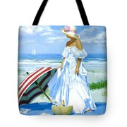 Salt Water Blues Tote Bag