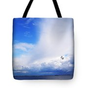 Salthill Air Show Tote Bag