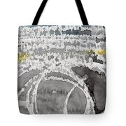 Saltwater- Abstract Painting Tote Bag