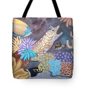 Salty Sea Tote Bag by Anthony Morris