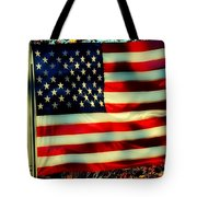 Salute For The Valiant Tote Bag