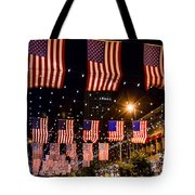 Salute To Old Glory Tote Bag
