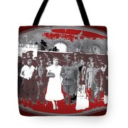 Saluting With Sabers Military Ceremony Unknown Location Or Date-2014 Tote Bag