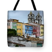 Salvador Brazil The Magic Of Color Tote Bag