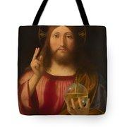 Salvador Mundi Tote Bag