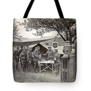 Salvation Army At Front Tote Bag