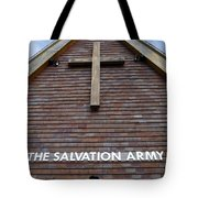 Salvation Tote Bag by Doug Wilton