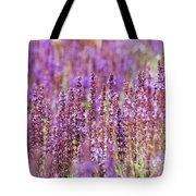 Salvia Abstract Tote Bag