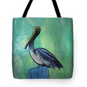 Sam The Pelican Tote Bag