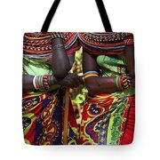 Samburu Women Dancing Kenya Tote Bag
