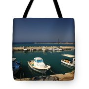 Sami Harbour Kefalonia Tote Bag