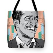 Sammy Davis Jr Pop Art Tote Bag