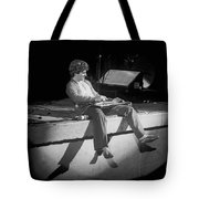 Sammy Tearing It Up In Spokane On 2-2-77 Tote Bag